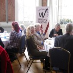 The Jane Austen Tea was part of the Warwick Words History Festival.