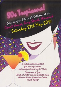 Celebrate the eighties on 27th May