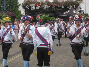 The Folk Festival at the end of July features morris dancers, and street food as well as the music.