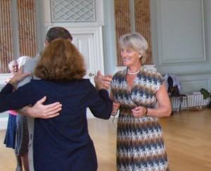Experienced dance teachers explain the steps